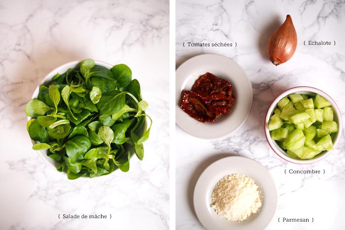 salade-mache-tomates-concombre-parmesan
